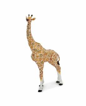Bejeweled Large Elegant Giraffe Keepsake Box