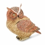 Bejeweled Large Wise Owl Keepsake Box