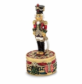 Bejeweled Nutcracker Keepsake Box