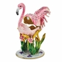 Bejeweled Pink Flamingo Keepsake Box