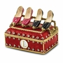 Bejeweled Rack With Shoes Keepsake Box