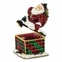 Bejeweled Santa In Chimney Keepsake Box
