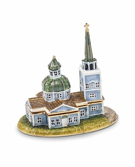 Bejeweled Sitka Orthodox Church Keepsake Box