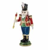 Bejeweled Toy Soldier Keepsake Box