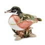 Bejeweled Wood Duck Keepsake Box