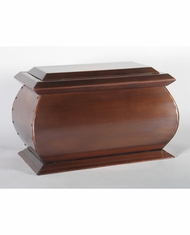 Bienville Custom Handcrafted Copper Cremation Urn