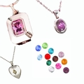 Birthstone Keepsake Cremation Urn Jewelry
