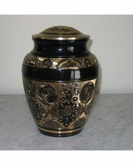 Black Beauty Cremation Urn