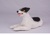 Black Brown White Jack Russell Hollow Figurine Pet Cremation Urn - 2752
