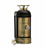 Black Fire Extinguisher Firefighter Cremation Urn