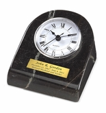 Black Grain Mini-Clock Marble Keepsake Cremation Urn