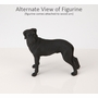 Black Great Dane Dog Figurine Pet Cremation Urn - 722