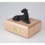 Black Labrador Dog Figurine Pet Cremation Urn - 138