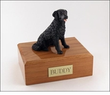 Black Labrador Dog Figurine Pet Cremation Urn - 156