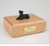 Black Labrador Dog Figurine Pet Cremation Urn - 4028
