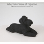 Black Schnauzer Dog Figurine Pet Cremation Urn - 1343
