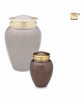 Blessing Bronze Keepsake Cremation Urn