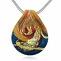 Bliss Cremains Encased in Glass Cremation Jewelry Pendant