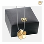 Bloom Gold Vermeil Cremation Jewelry Pendant Necklace