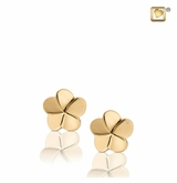 Bloom Gold Vermeil Memorial Jewelry Stud Earrings