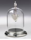 Blown Glass Jewelry Domes Pendant Display Case for Cremation Jewelry