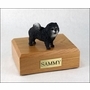 Blue Chow Dog Figurine Pet Cremation Urn - 677