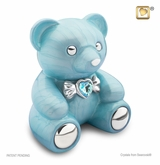 Blue CuddleBear Infant Child Cremation Urn