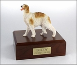 Borzoi Dog Figurine Pet Cremation Urn - 322