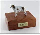 Borzoi Dog Figurine Pet Cremation Urn - 551