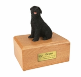 Bouvier Dog Figurine Pet Cremation Urn - 025