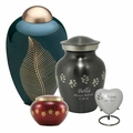 Brass Pet Cremation Urns