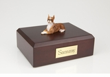 Brindle Boxer Dog Figurine Pet Cremation Urn - 4003