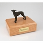 Brindle Greyhound Dog Figurine Pet Cremation Urn - 737