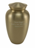 Bronze Classic Gloss Adult Cremation Urn