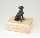 Bronze Dalmatian Dog Figurine Pet Cremation Urn - 426
