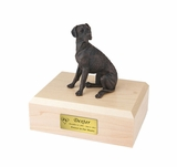 Bronze Great Dane Dog Figurine Pet Cremation Urn - 433
