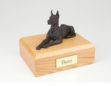 Bronze Great Dane Dog Figurine Pet Cremation Urn - 434
