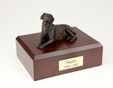 Bronze Labrador Dog Figurine Pet Cremation Urn - 440