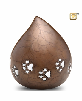 Bronze Love Drop Pet Cremation Urn