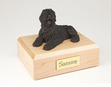 Bronze Sheepdog Dog Figurine Pet Cremation Urn - 459