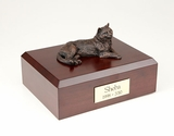 Bronze Tabby Cat Figurine Pet Cremation Urn - 403