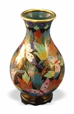 Butterfly Cloisonne Bud Vase