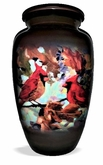 Cardinal Collage Picture Cremation Urn