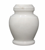 Carpel Antique White Keepsake Cremation Urn