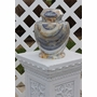 Carpel Blue Onyx Marble Mosaic Cremation Urn