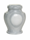 Carpel Galaxy Gray Marble Keepsake Cremation Urn