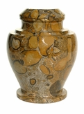 Carpel Pebble Marble Cremation Urn