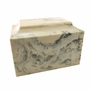 Carrera MoonStone Classic Cultured Marble Cremation Urn Vault -S