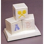 Ceramic Blocks Infant Cremation Urn