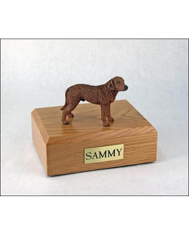 Chesapeake Bay Retriever Dog Figurine Pet Cremation Urn - 662